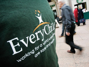 EveryChild street fundraising campaign