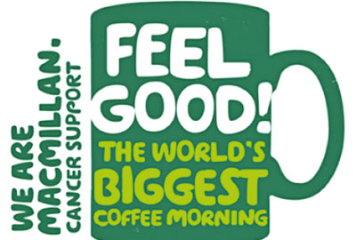 Macmillan coffee morning event