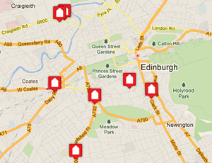Shelter Scotland's shops on Foursquare
