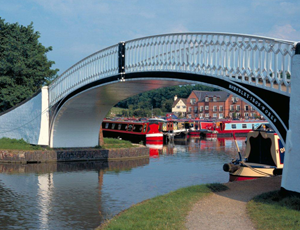 A bridge in Braunston