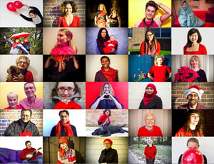 British Heart Foundation's Wear Red Day