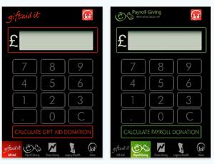 Institute of Fundraising calculator app