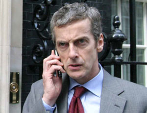 The Thick of It's Malcom Tucker, played by Peter Capaldi