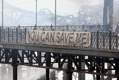Campaign to save Hastings Pier