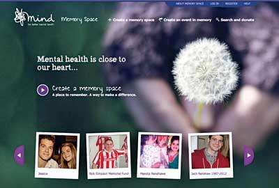 Mind's Memory Space website