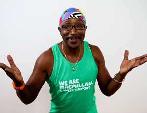 Mr Motivator for Macmillan Cancer Support's campaign
