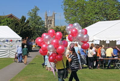 Events: 'visitors are potential major donors'