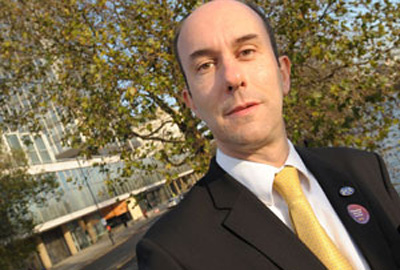 Kevin Broad, secretary of the London brand of the PCSU's Charity Commission committee