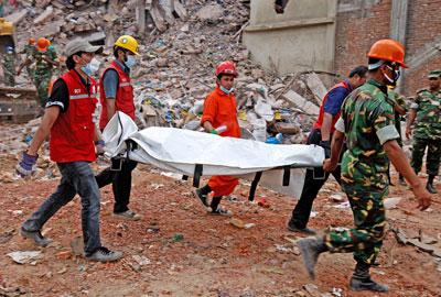 The Bangladeshi factory collapse