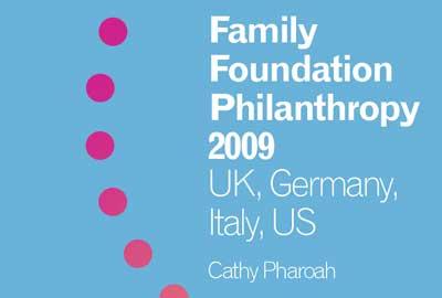 Family Foundation Philanthropy report