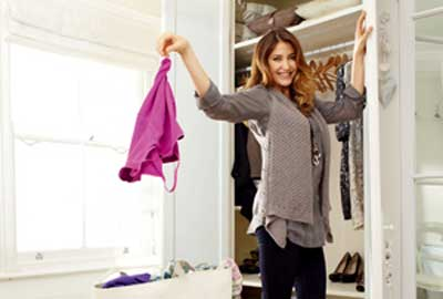 Lisa Snowdon supports Oxfam for M&S