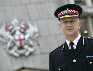 Adrian Leppard, commissioner of the City of London Police