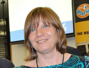 Susanne Rauprich, chief executive of NCVYS