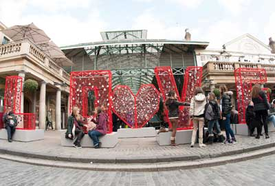 British Heart Foundation's Love Installation