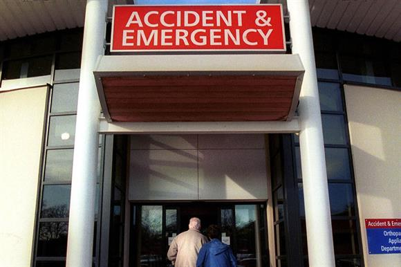 Accident and emergency departments