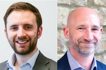 James Abbott (left) and Tim Willett