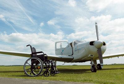 Aerobility's plane