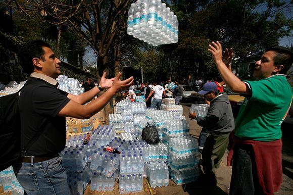 Aid in Haiti (Photograph: Shutterstock)