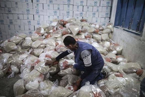 Aid in Palestine