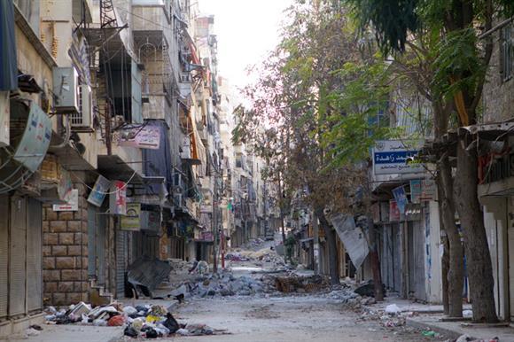 Aleppo, Syria: where NGOs work