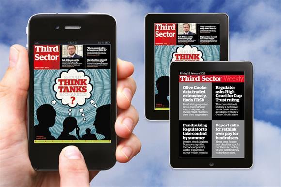 Third Sector Digital app