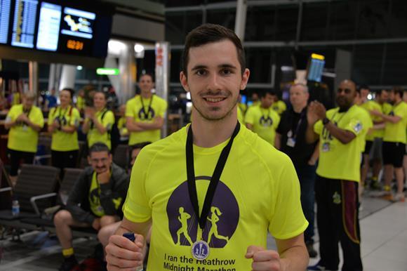 Midnight Marathon at Heathrow
