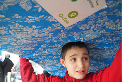 Oxfam: part of the Syria appeal