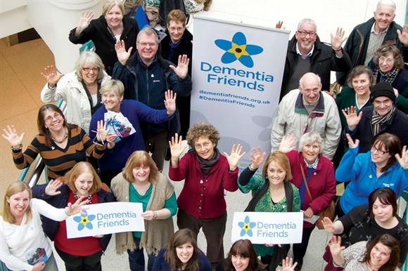 Dementia Friends: a million have been recruited