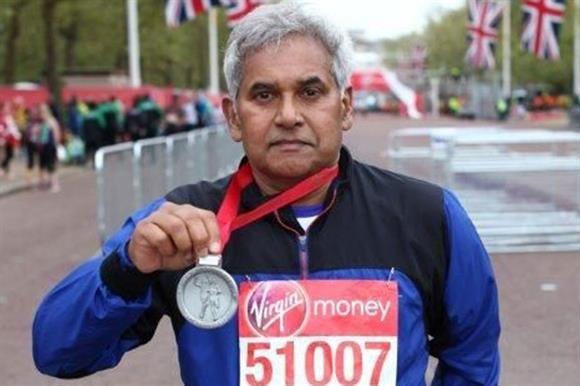 Ashok Bhardwaj: began running at 64
