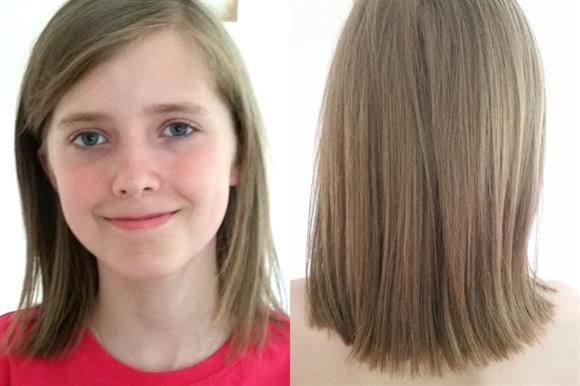Charlie Marsden's 'shield of hair'