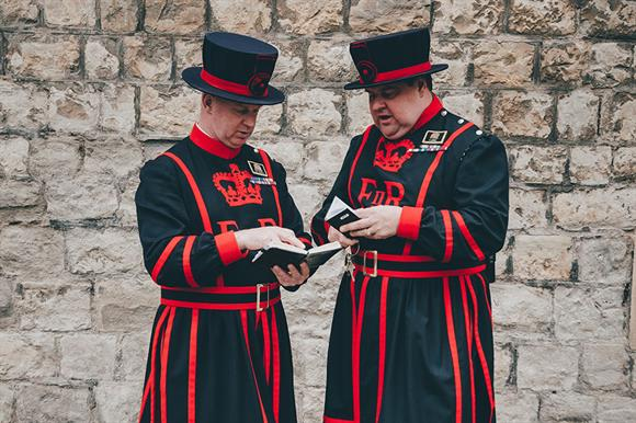 Beefeaters (Photograph: Getty Images)