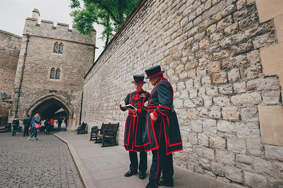 Beefeaters to strike? (Photograph: Getty Images)