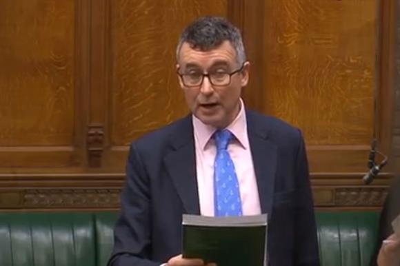 Benard Jenkin in the Commons yesterday