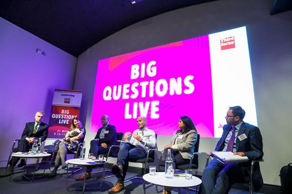 The Big Qustions Live panel