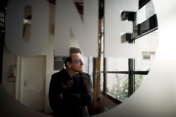 The U2 singer Bono