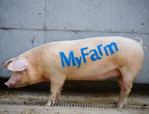 National Trust's MyFarm campaign