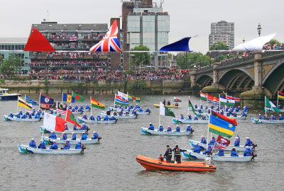 Diamond jubilee pageant