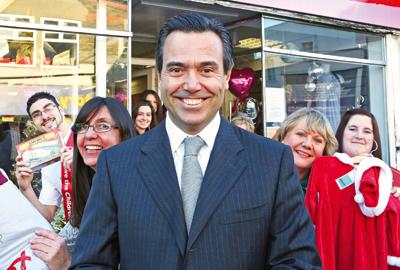 Lloyds Banking Group's Antonio Horta-Osorio