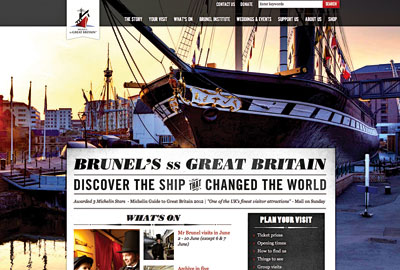 Museum ship: new online experience