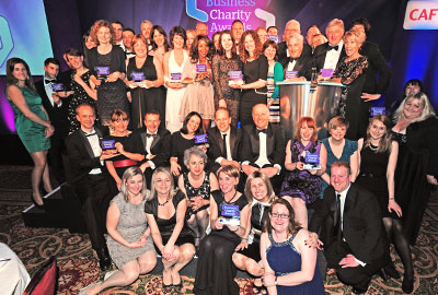 The winners at this year's Business Charity Awards