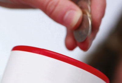 Survey finds giving dropped 12 per cent in 2011