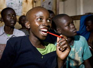 Kenyan education charity Hovic supported by Comic Relief
