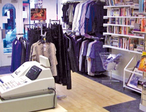 Charity shops' stock levels drop