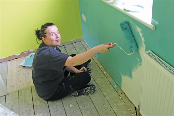 The foundation provides resources to refurbish empty properties for people in need