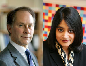 Purkis (left) and Nebhrajani are among the Commision's new trustees
