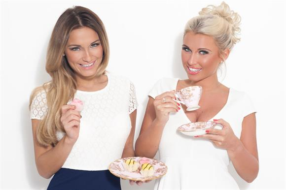 Sam and Billie Faiers from the TV reality show The Only Way is Essex, supporting Haven House Children's Hospice