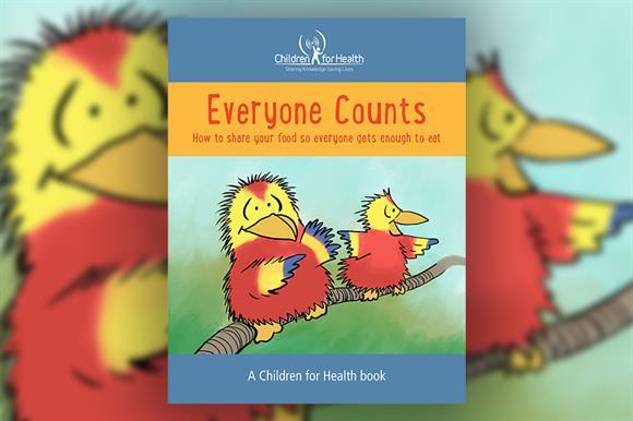 Child-focused health education content