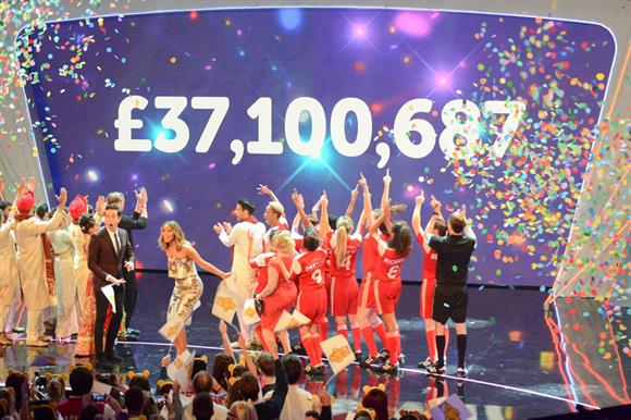 Children in Need: £37.1m on the night