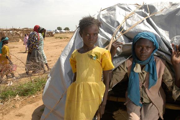 A Christian Aid camp in Burkina Faso