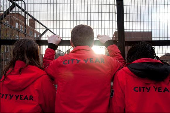 City Year volunteers